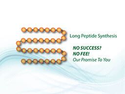 Long peptide synthesis